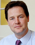 foto The Right Honourable Sir N.W.P. (Nick) Clegg