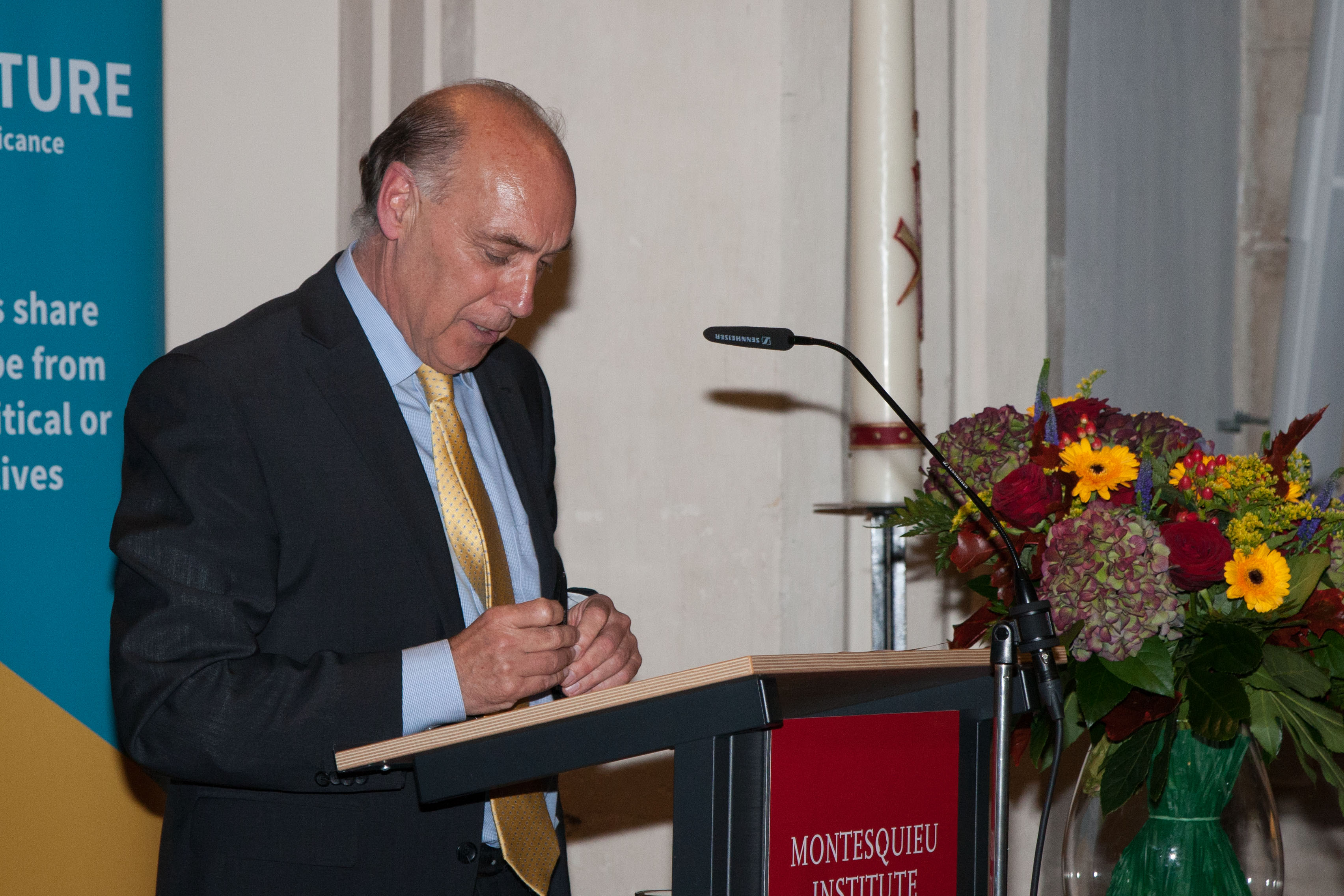 Mr. De Bruijn, moderator of the Europe Lecture 2014